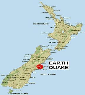 NZ Earth Quake