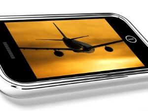 Mobile Device in Flight