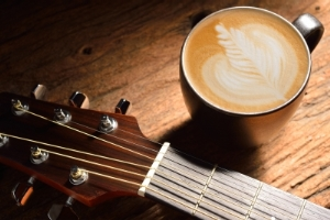 coffee and music