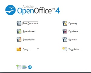 Open Office software