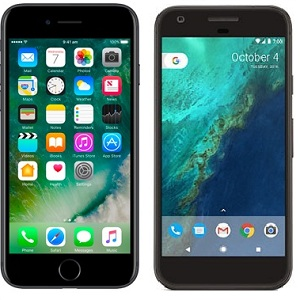 Google Pixel Vs Apple iPhone